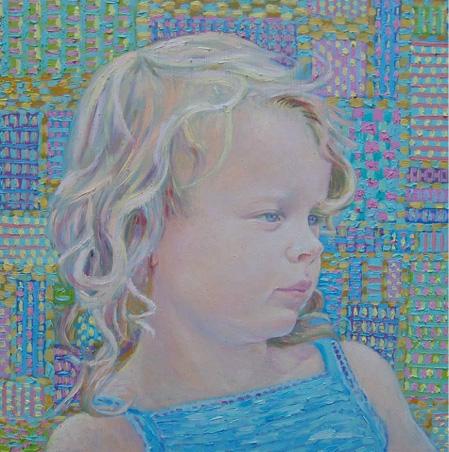 'Marith', 30 x 30 cm, olieverf op paneel