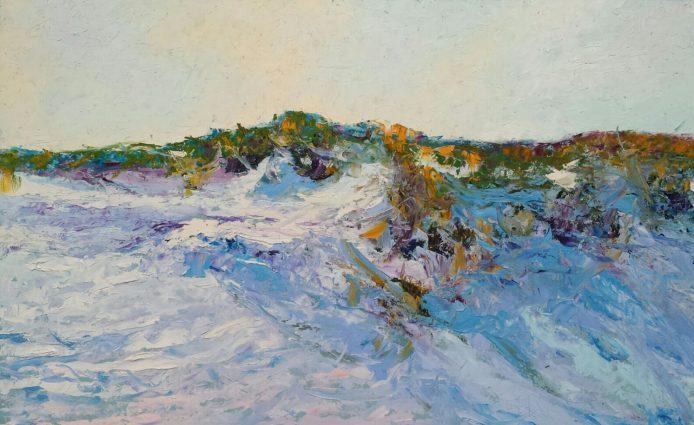 'Woeste Duin', 80 × 50 cm, olieverf op masonite