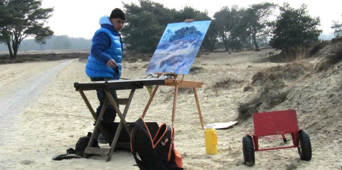 Ronald Soeliman - schilderlessen/ workshop