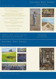 2 maart t/m 29 april: LENTELIEFDE Galerie Den Andel, De Streekweg 1, 9956 PN Den Andel Opening op 4 maart om 15.00 uur