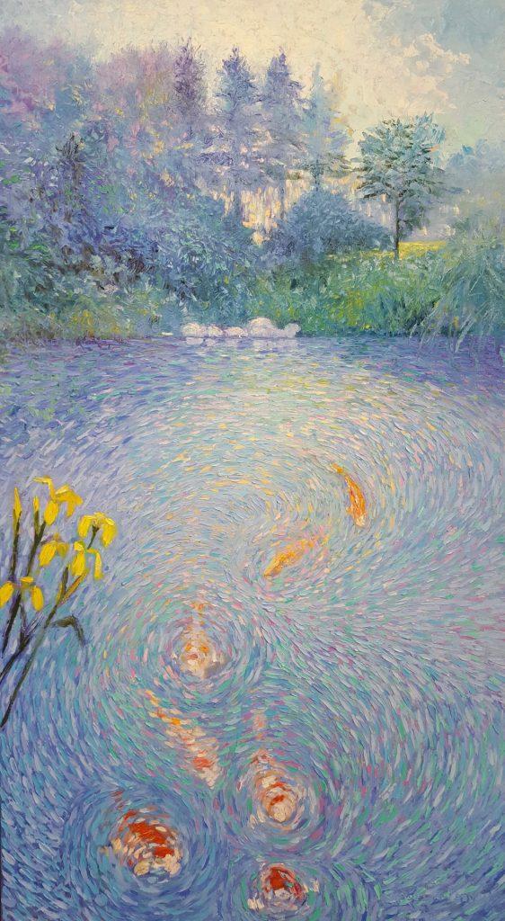 Ode aan Vincent van Gogh I, 200 x 110 cm